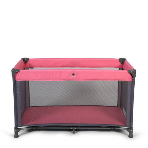 Topmark campingbed in tas roze kopen