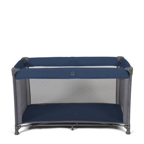 Topmark campingbed in tas blauw kopen