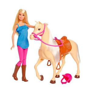 met paard