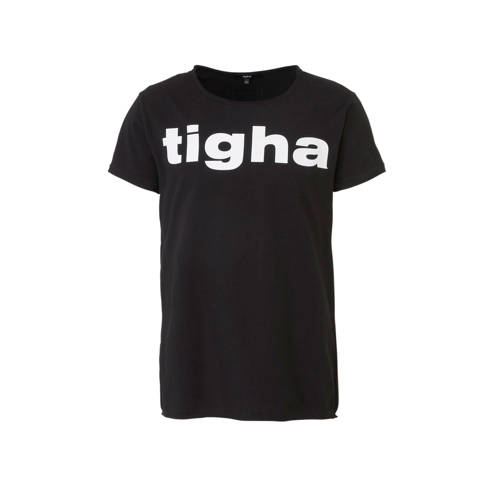 Tigha T-shirt met logo