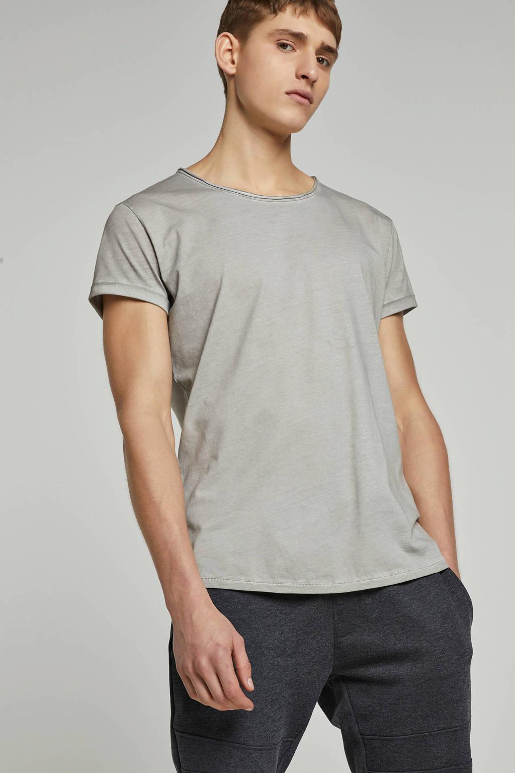 Tigha T-shirt Milo grijs, Grijs