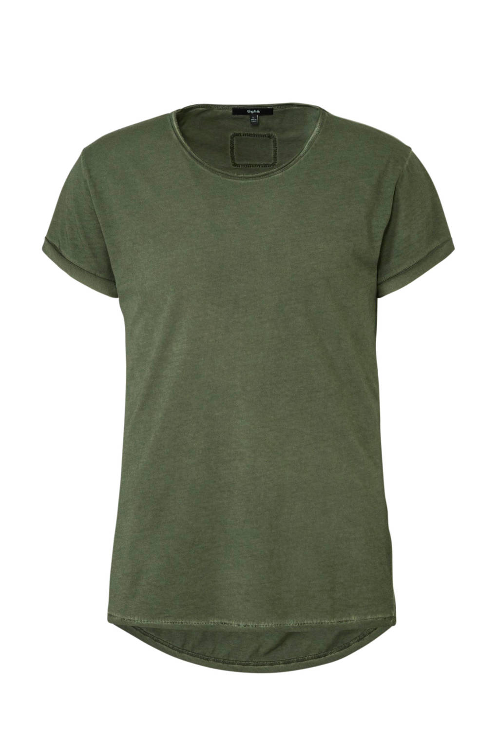 Tigha T-shirt Milo groen, Groen