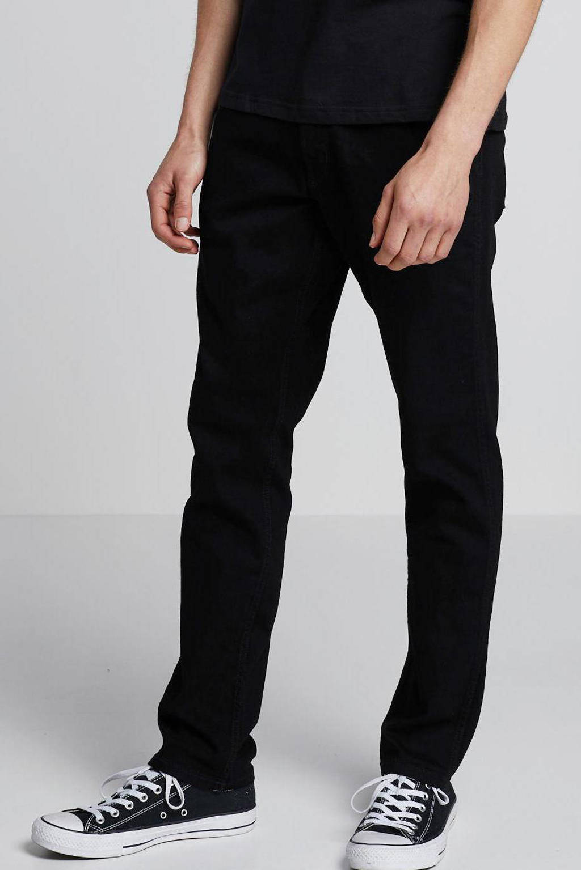 Wrangler straight fit jeans Greensboro black valley, Black Valley