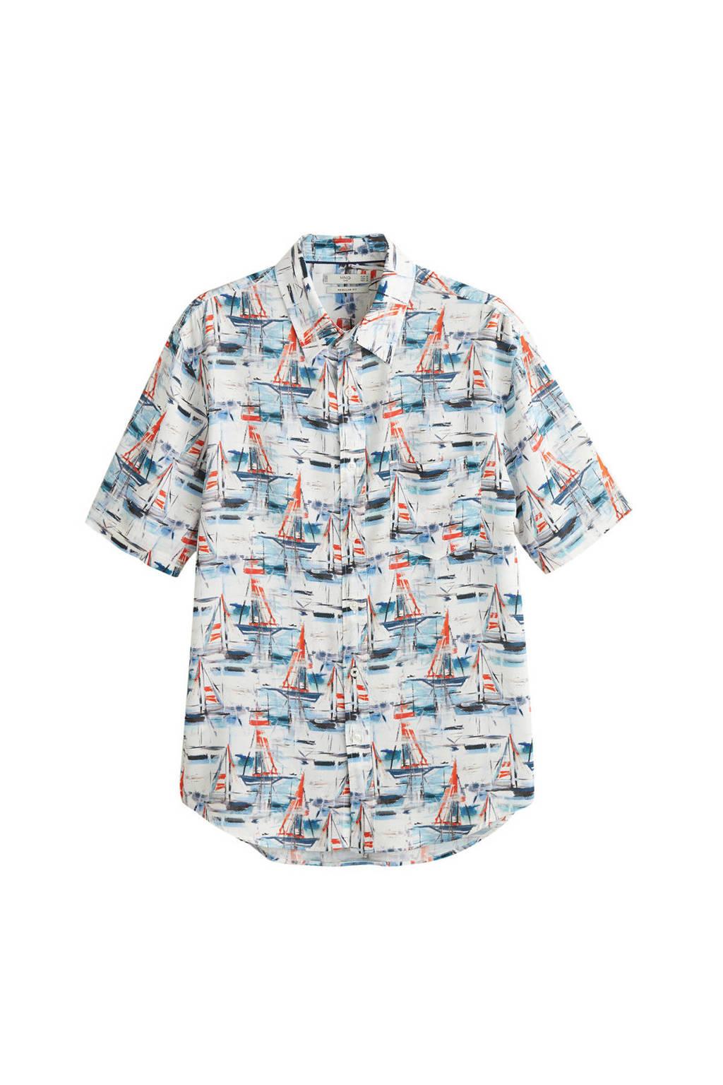 Mango Man overhemd, Wit