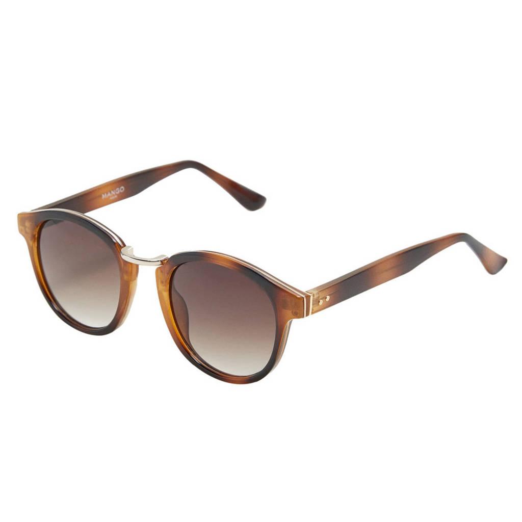 Mango Man zonnebril bruin, Bruin