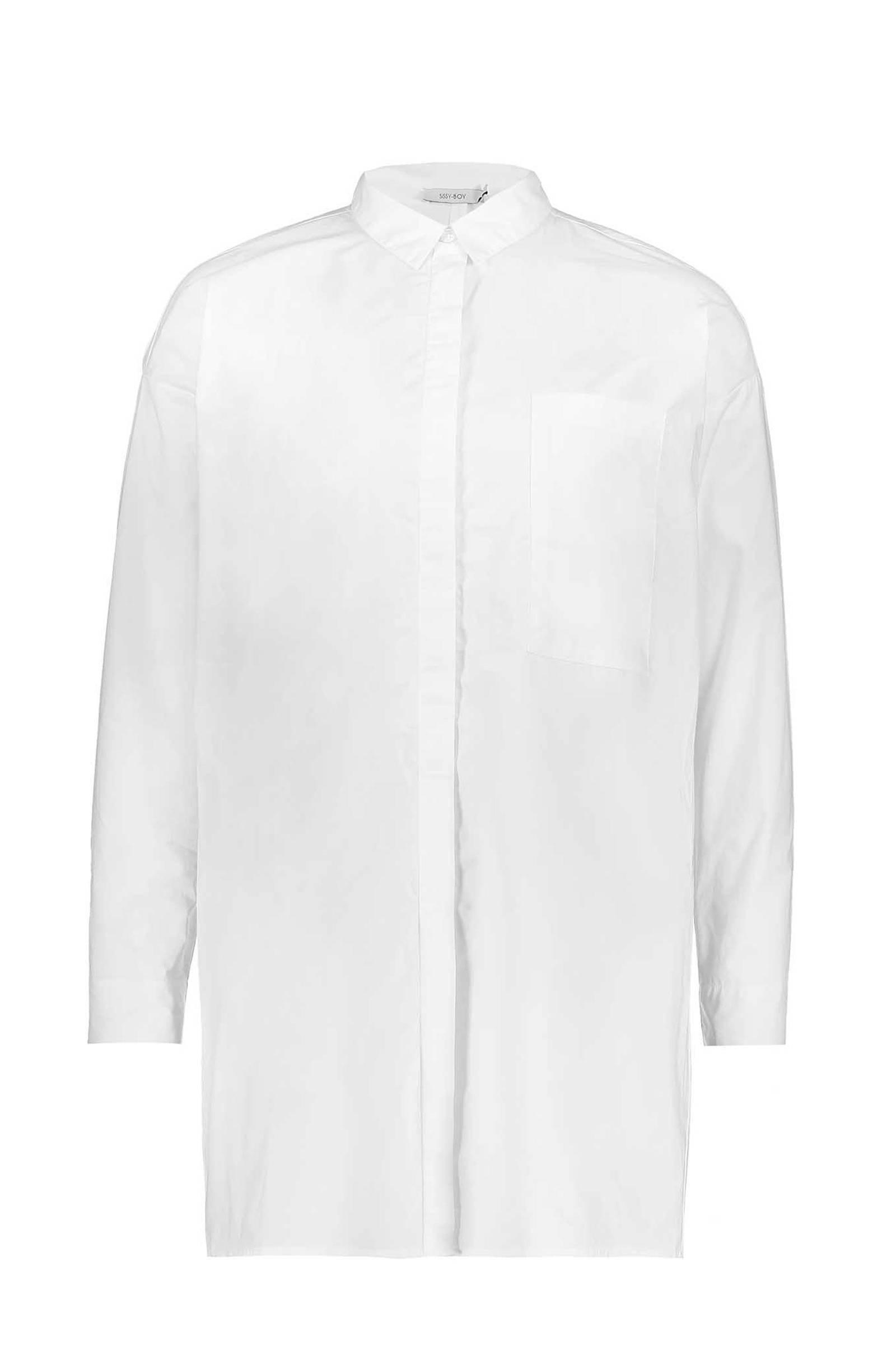 lange blouse wit