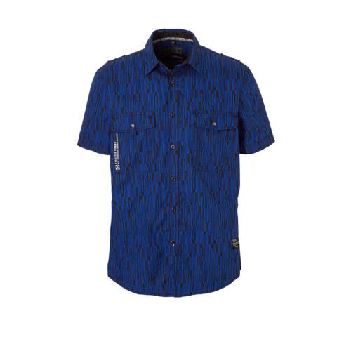 C&A Angelo Litrico overhemd met print blauw