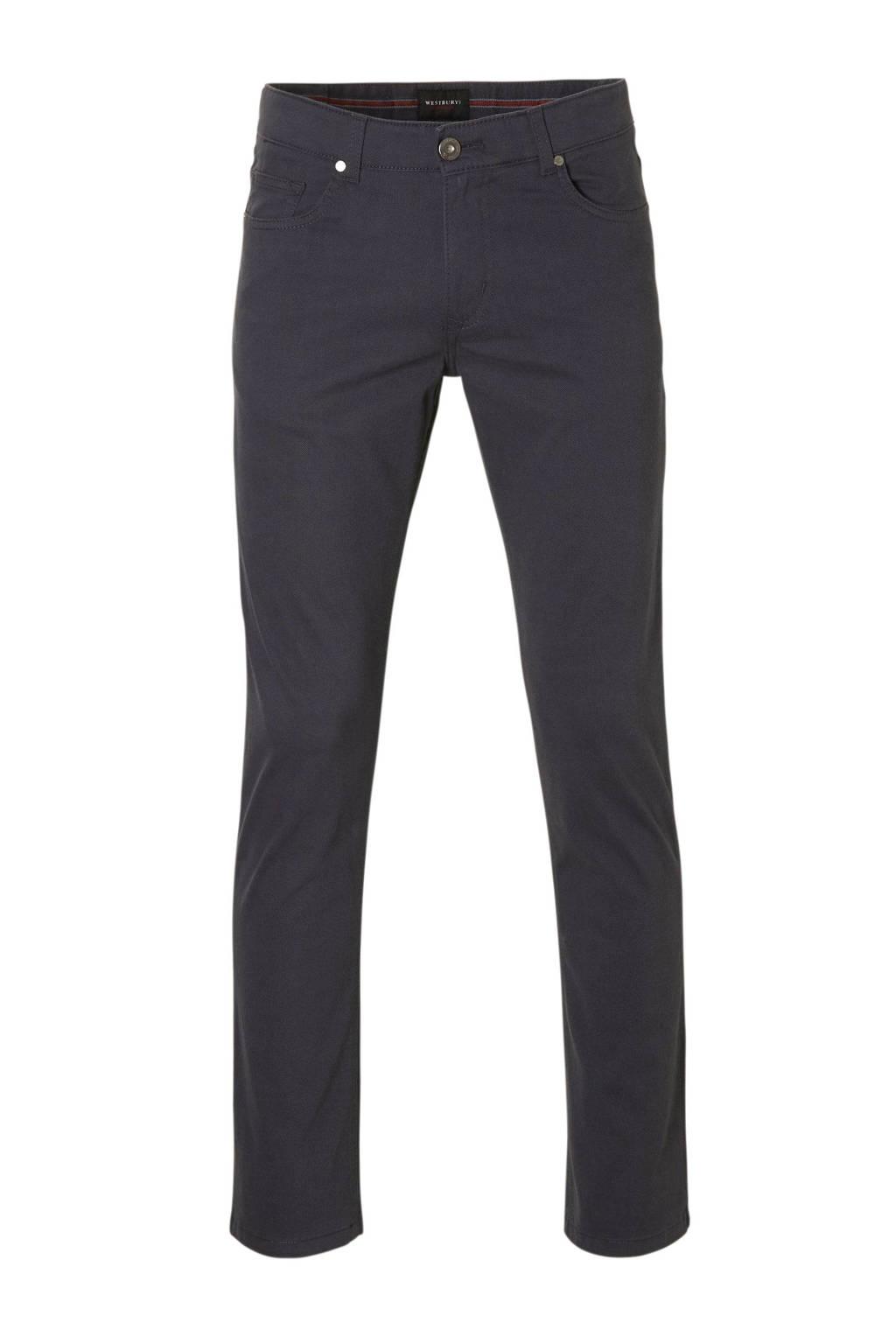 C&A Westbury 5 pocket broek, Blauw