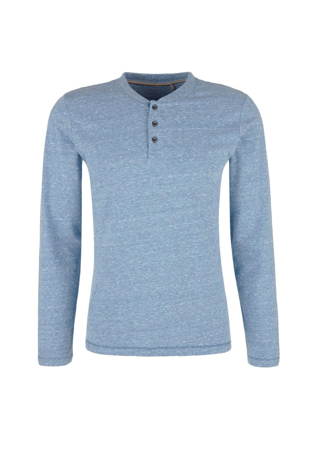 s.Oliver slim fit T-shirt, Blauw