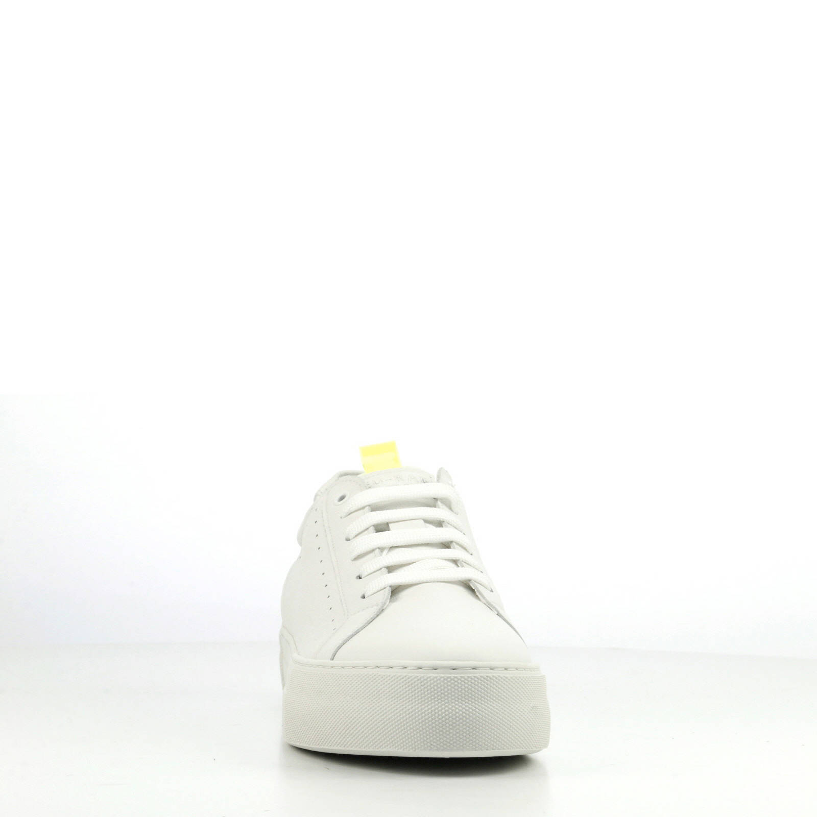 Rag Wit Leren Sneakers Red Plateau mnO80yvNw
