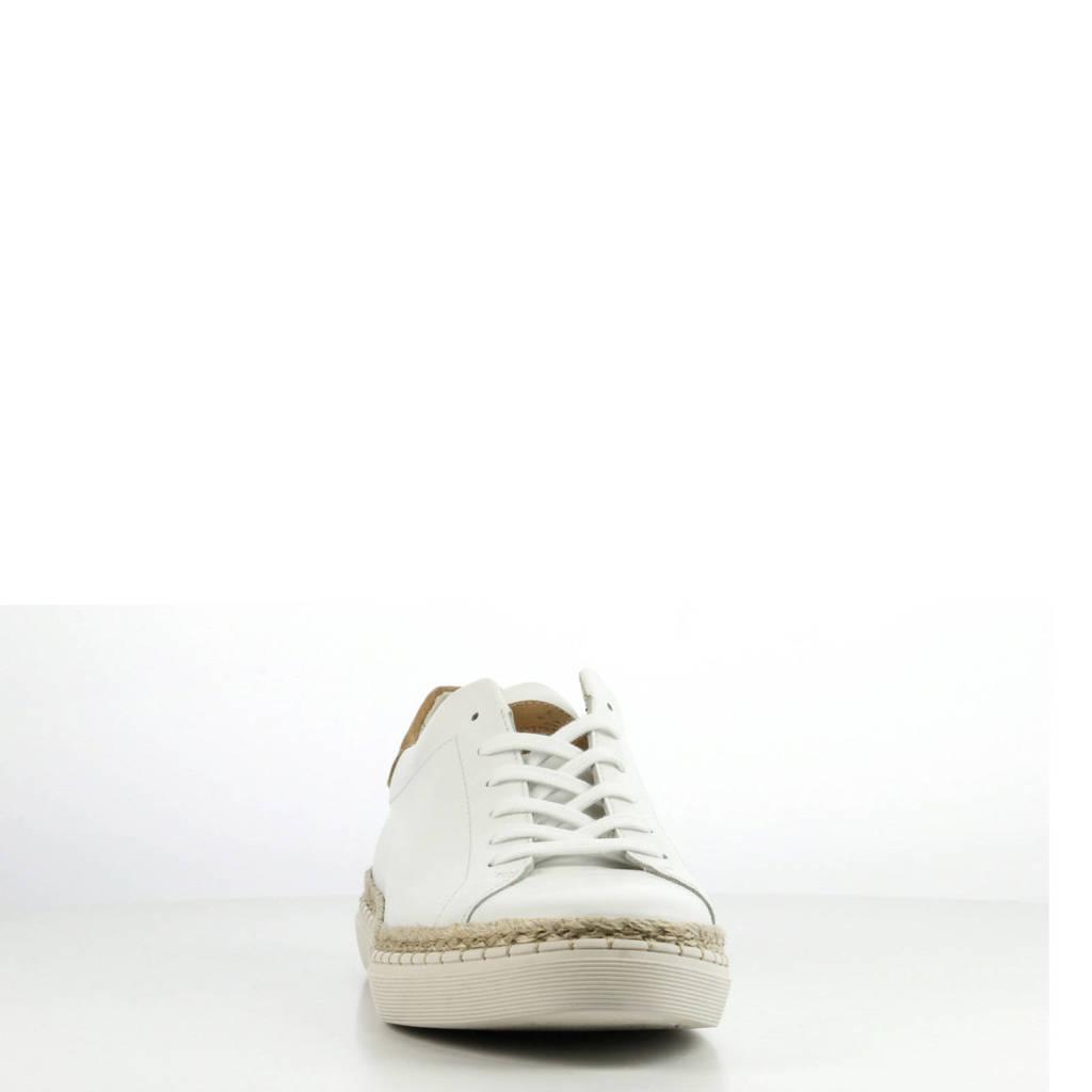 Giuseppe Maurizio Wit Sneakers Giuseppe Leren Maurizio qw54SSExH