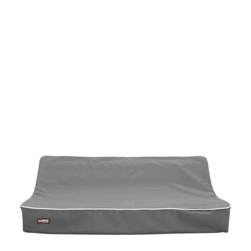 Luma aankleedkussen 72x44 cm grijs