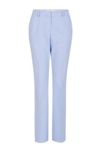 flared pantalon lichtblauw