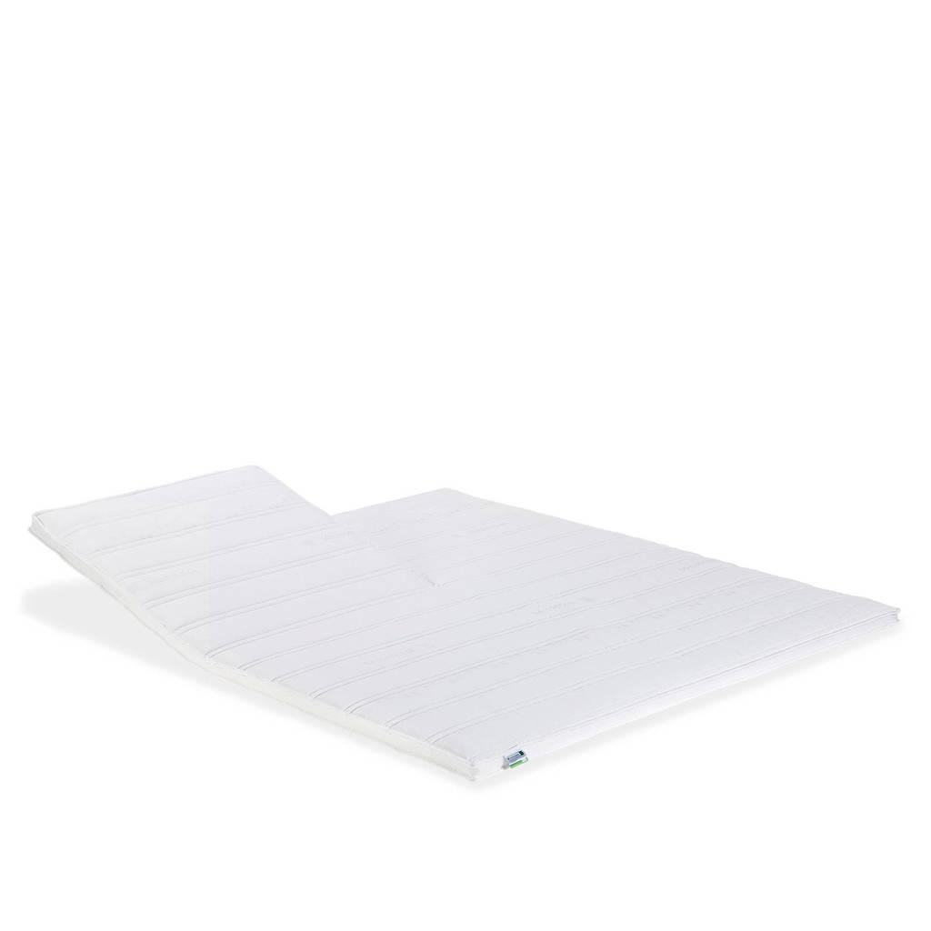 Beddenreus latex split topmatras Comfort Latex  (160x200 cm), Wit