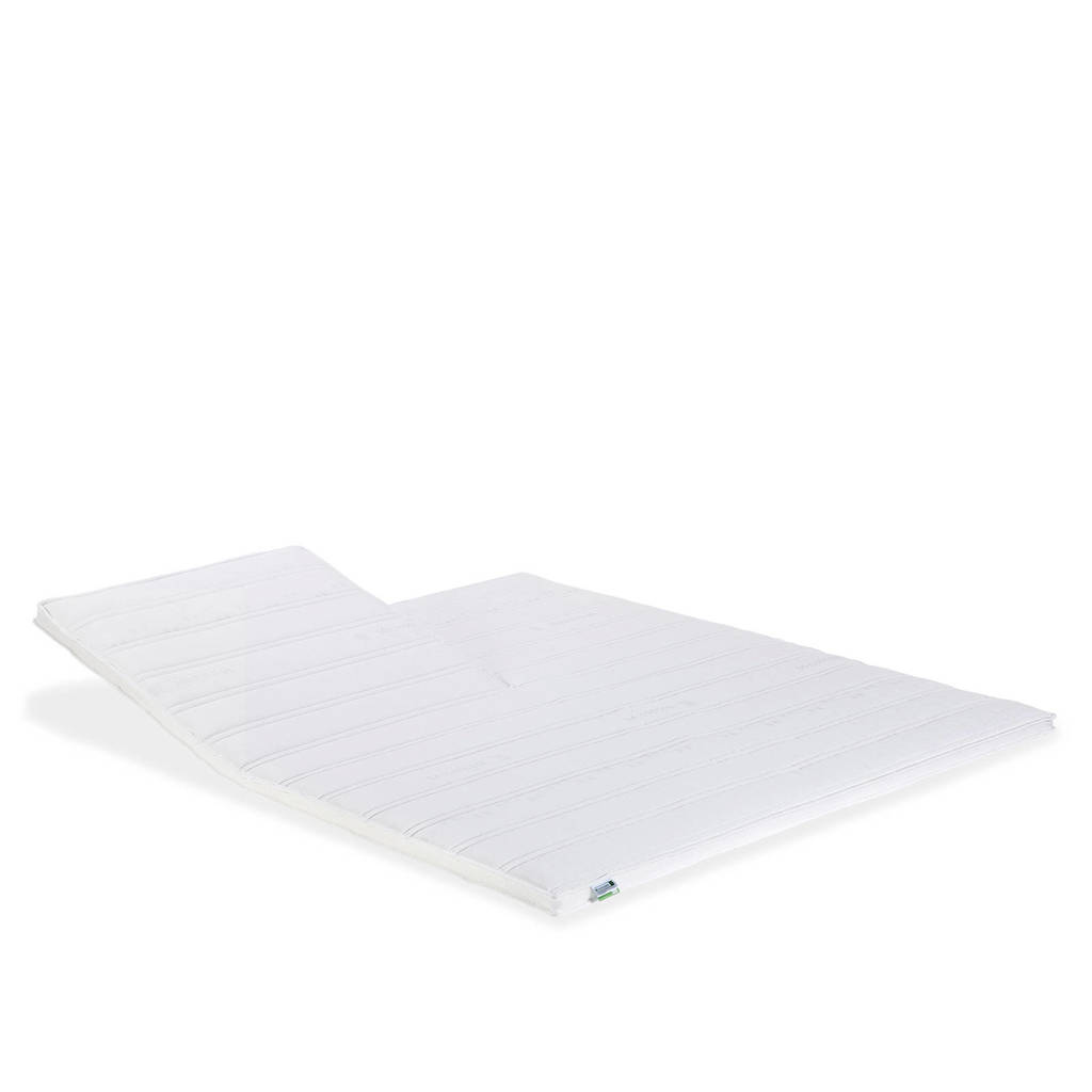 Beddenreus splittopmatras Comfort Latex  (160x200 cm), Wit