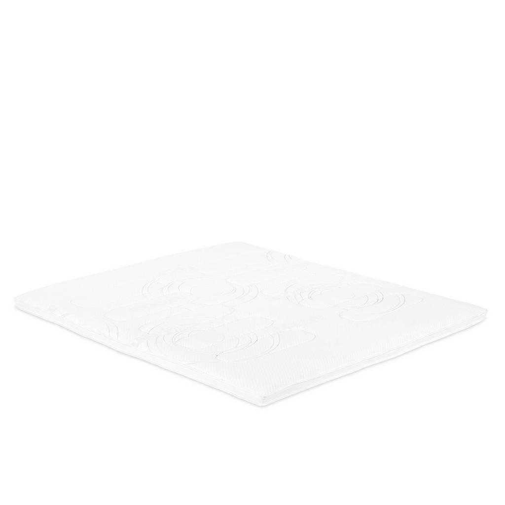 Beddenreus topmatras Topcare Foam  (120x200 cm), Wit