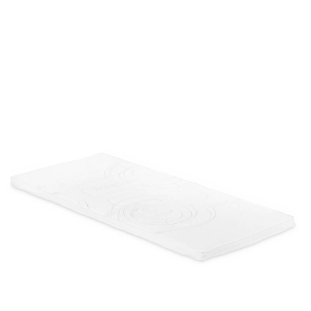 Beddenreus hr-schuim topmatras Topcare Foam  (100x200 cm), Wit