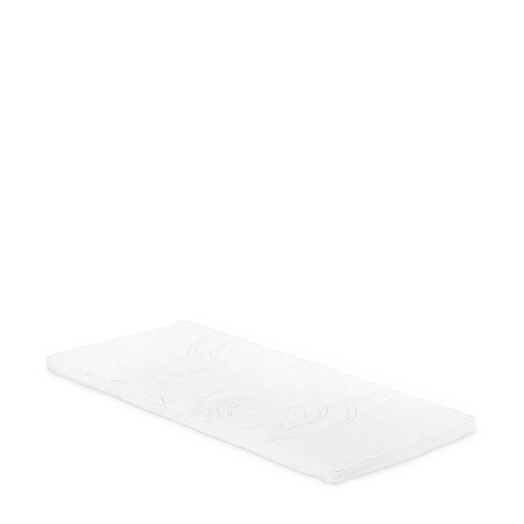 Beddenreus latex topmatras Topcare Latex  (100x210 cm), Wit