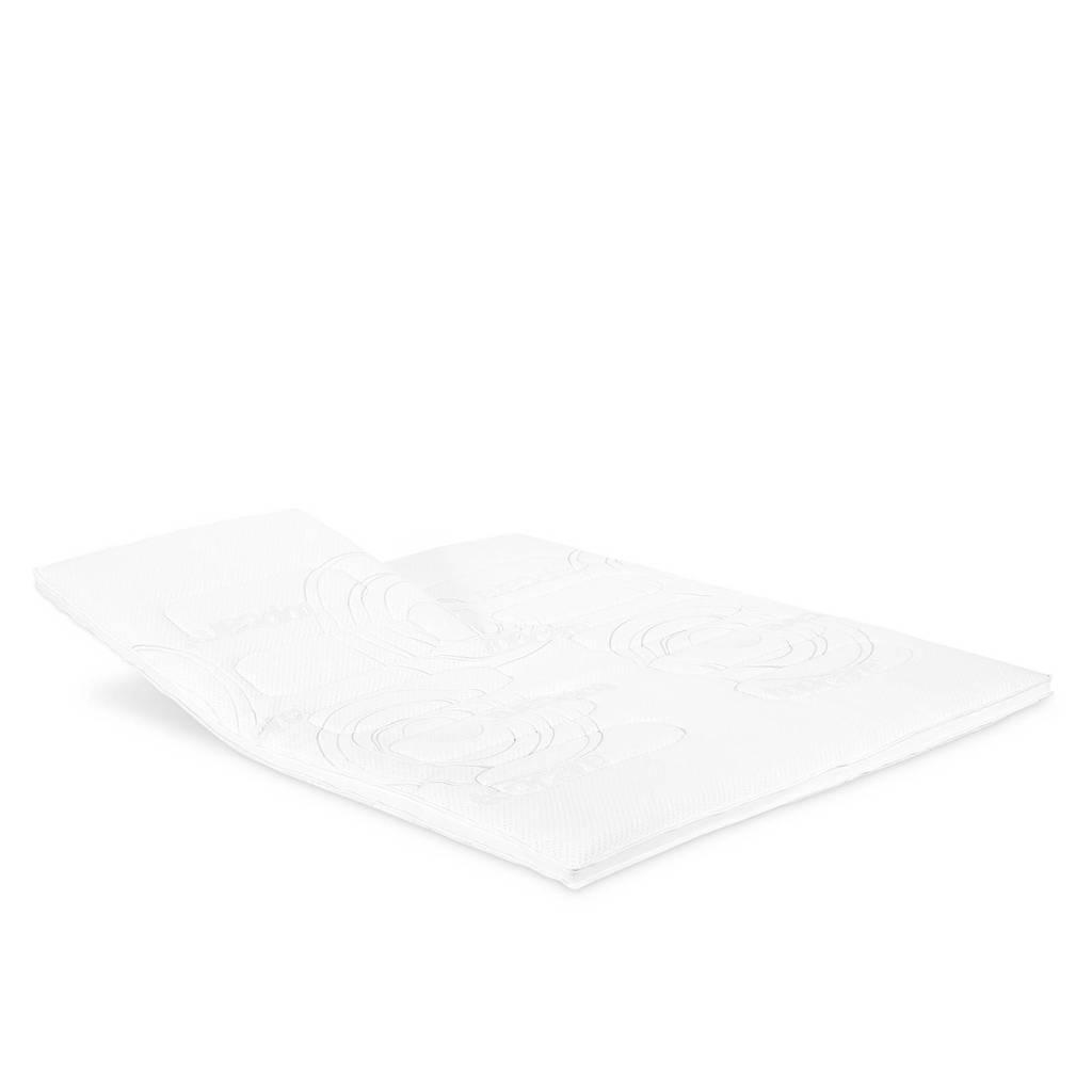 Beddenreus slittopmatras Topcare Foam  (140x200 cm), Wit