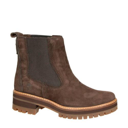 Timberland Courmayeur Vall nubuck chelsea boots bruin