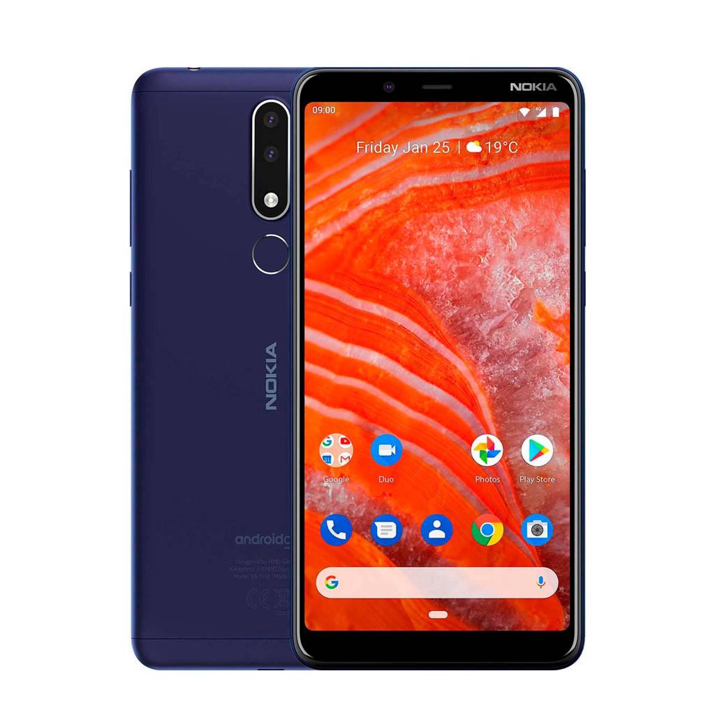 Nokia  3.1, Blauw