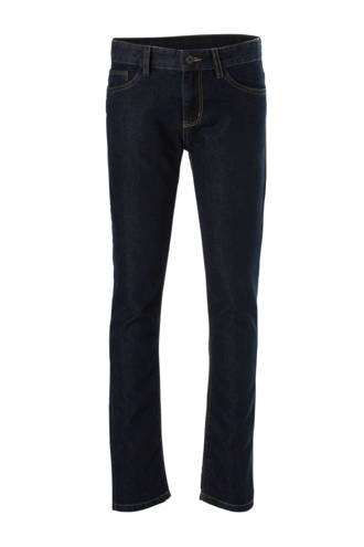 Here & There slim fit jeans donkerblauw