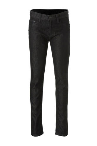 Here & There slim fit jeans zwart