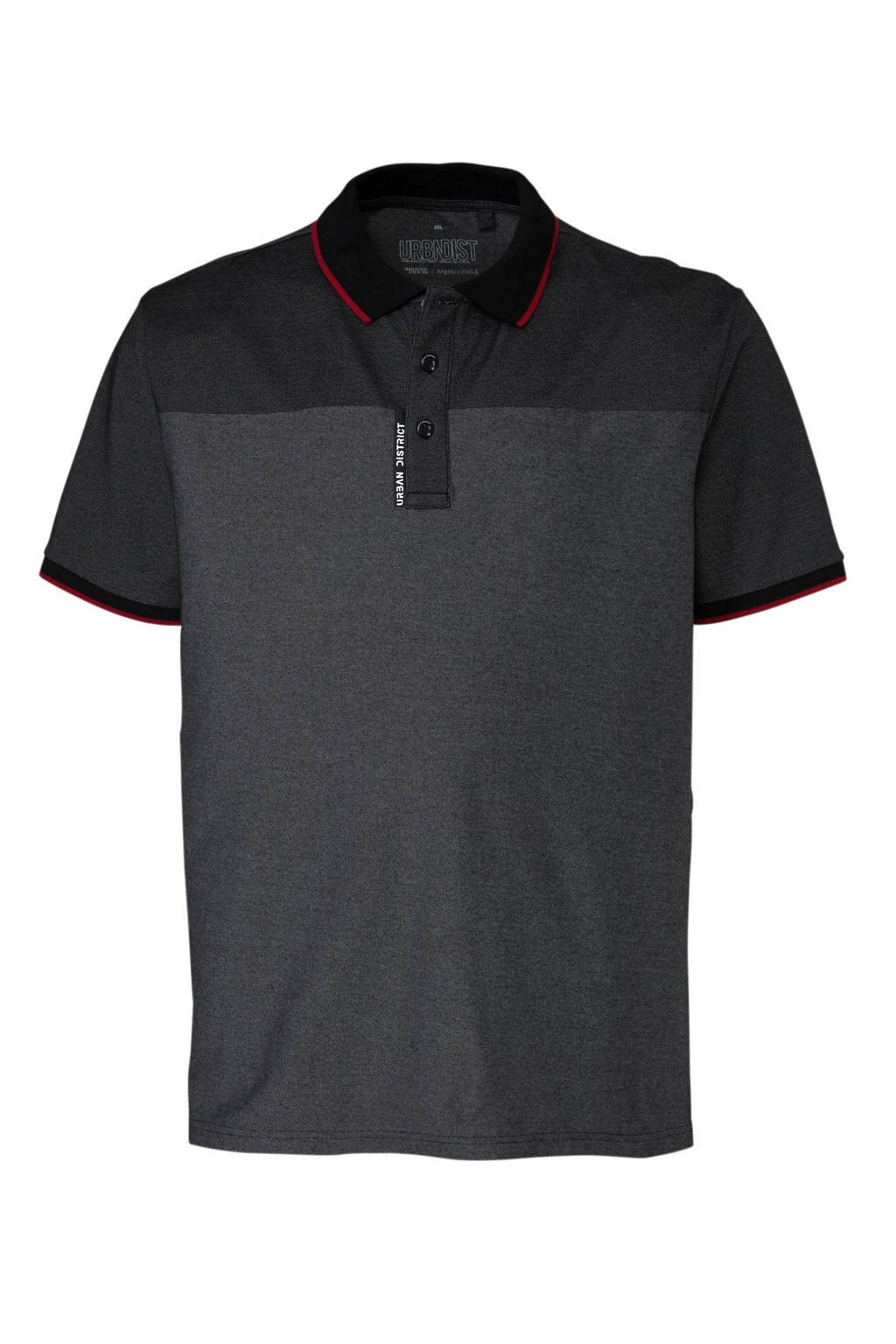 C&A XL Angelo Litrico polo, Antraciet