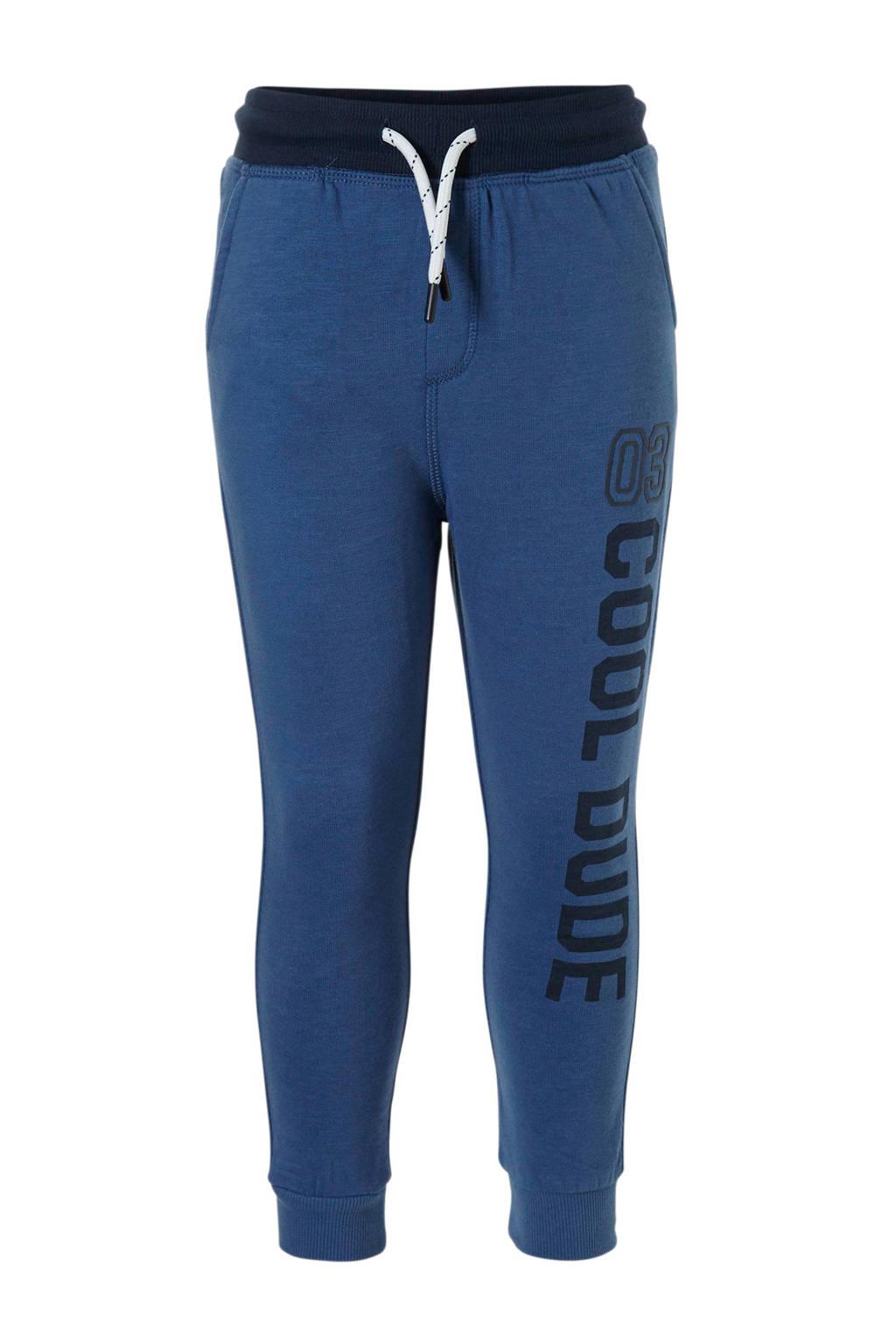 C&A Palomino   joggingbroek met tekst blauw, Blauw