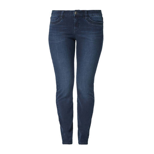 TRIANGLE 5-pocket curvy fit jeans