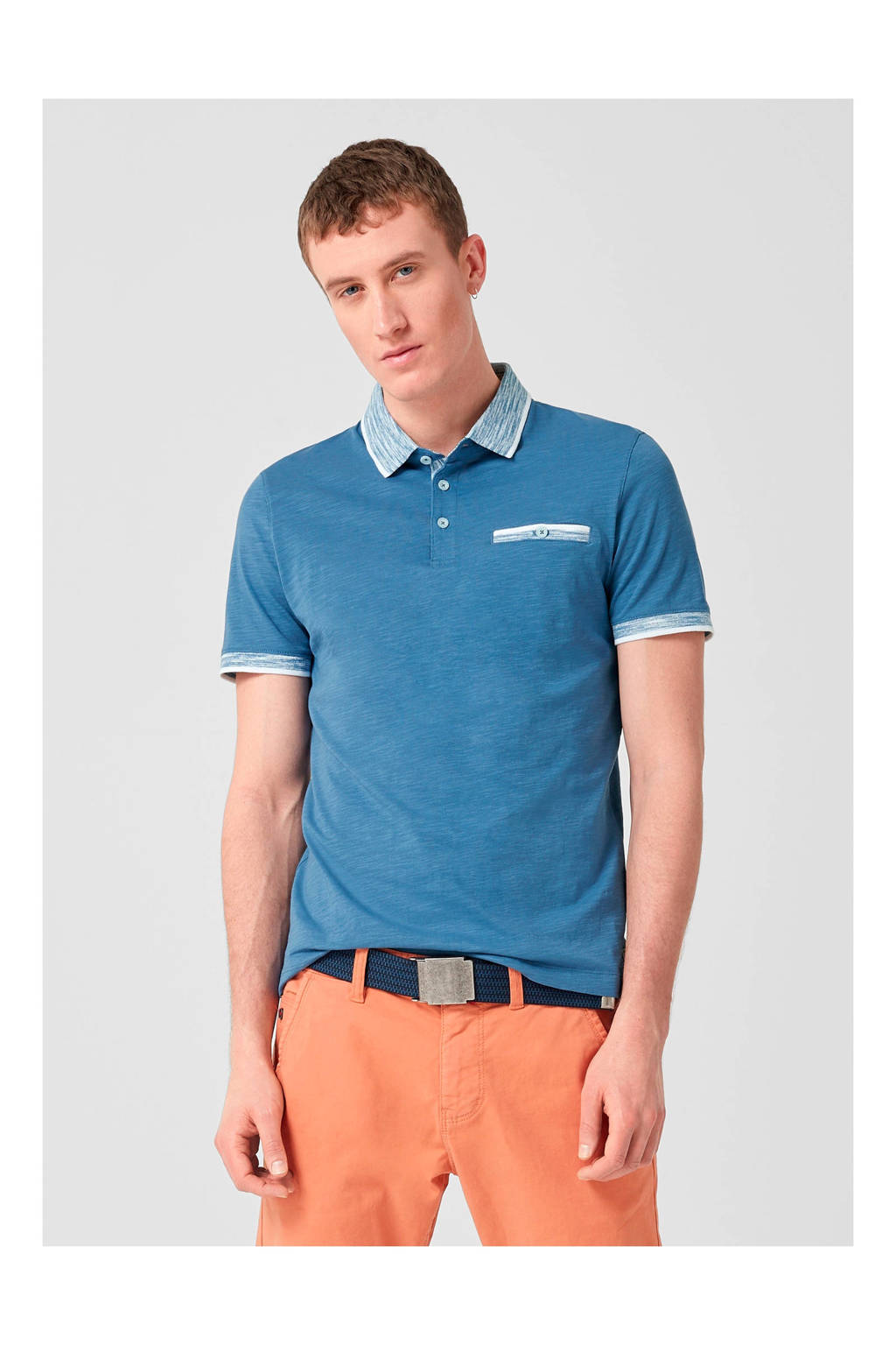 s.Oliver regular fit polo, Blauw