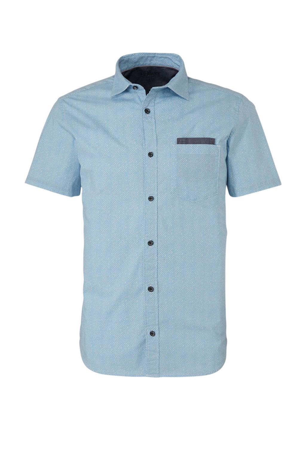 Skinny Fit Overhemd.S Oliver Slim Fit Overhemd Wehkamp