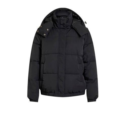 OBJECT winterjas zwart