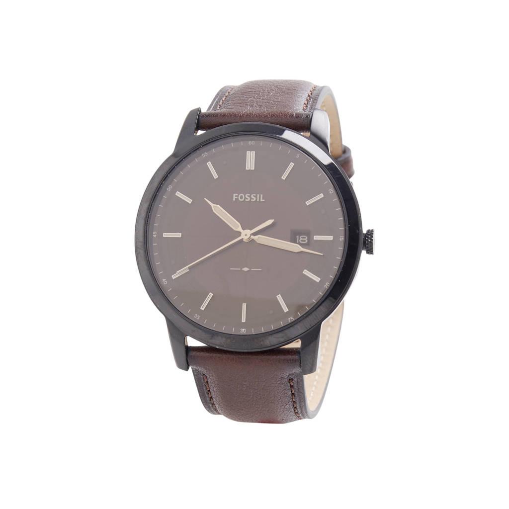 Fossil 44Mm Townsman Heren Horloge FS5437, Zwart