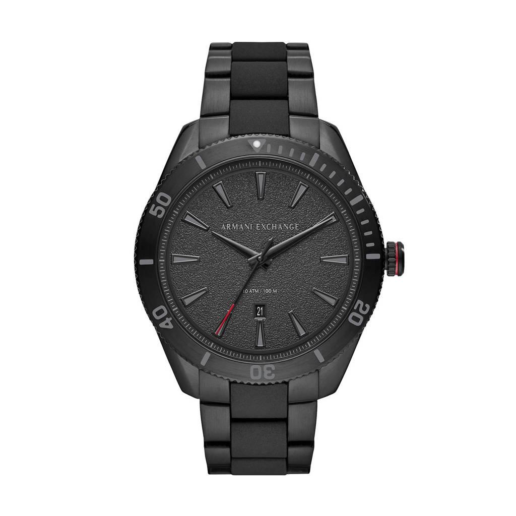 Armani Exchange horloge Enzo AX1826 zwart, Zwart