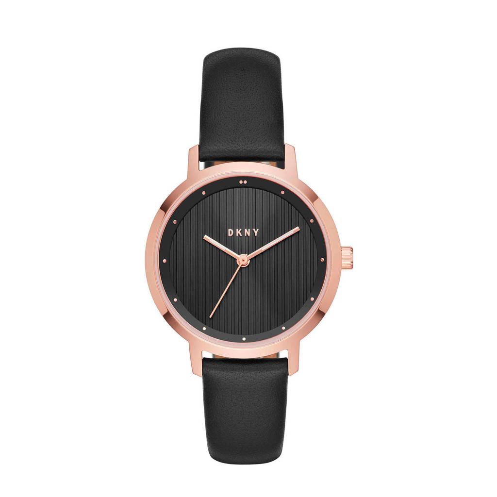 DKNY The Modernist Dames Horloge NY2641, Zwart