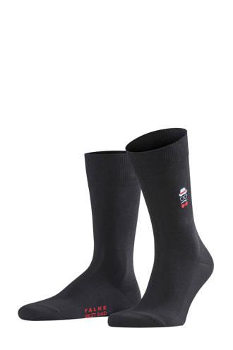 sokken Best dad zwart