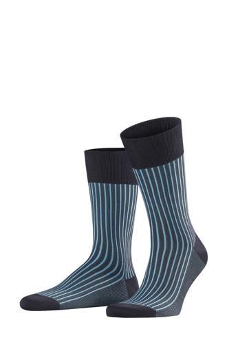 sokken Oxford Stripe blauw