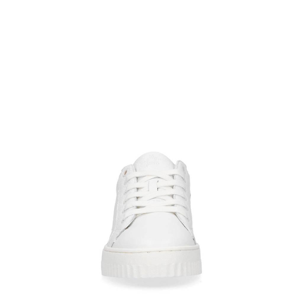 Manfield Leren Wit Manfield Sneakers Leren xpqagpw1