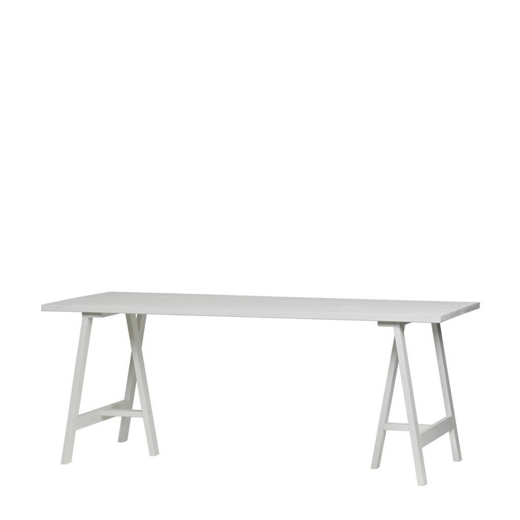 vtwonen eettafel Panel 190 cm, Wit