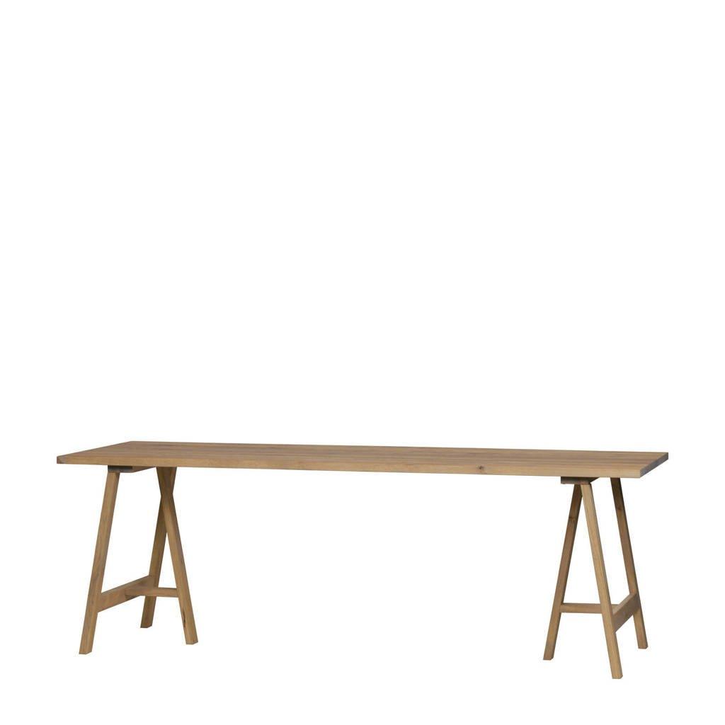 vtwonen eettafel Panel 220 cm, Eiken