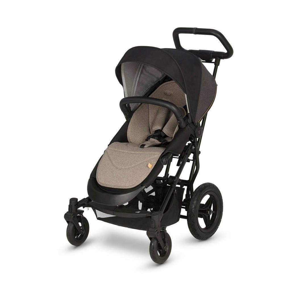 Micralite Smartfold kinderwagen grijs, Zwart