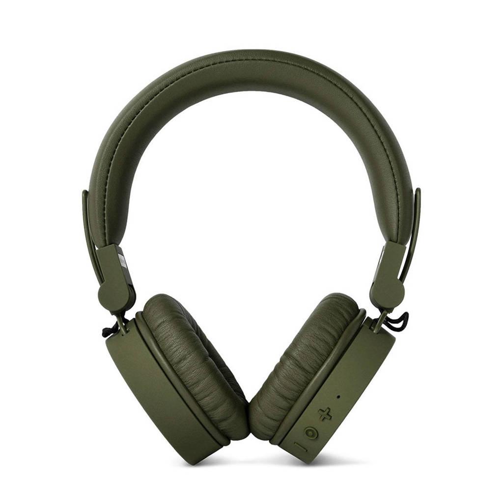 Fresh 'n Rebel CAPS Bluetooth on-ear  koptelefoon donkergroen, Groen, Op het oor