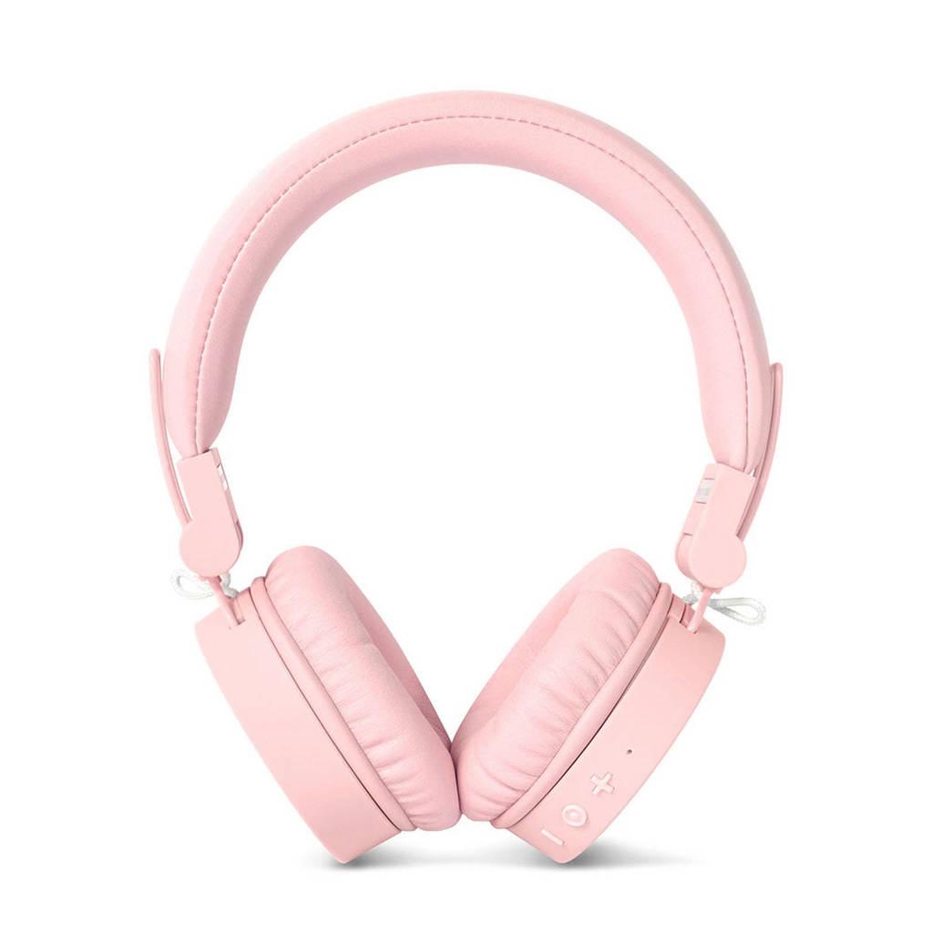 Fresh 'n Rebel CAPS Bluetooth on-ear koptelefoon (lichtroze), Roze, Nee