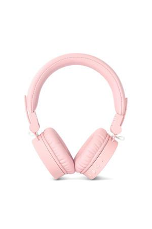 CAPS Bluetooth on-ear koptelefoon (lichtroze)