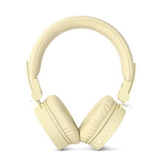 Caps on-ear bluetooth koptelefoon geel