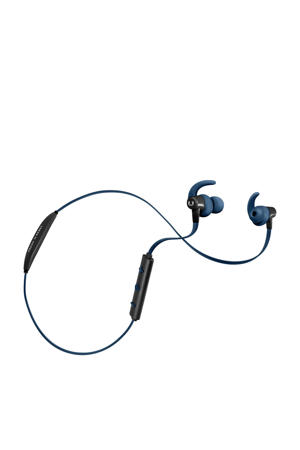 Lace sport in ear bluetooth koptelefoon donkerblauw