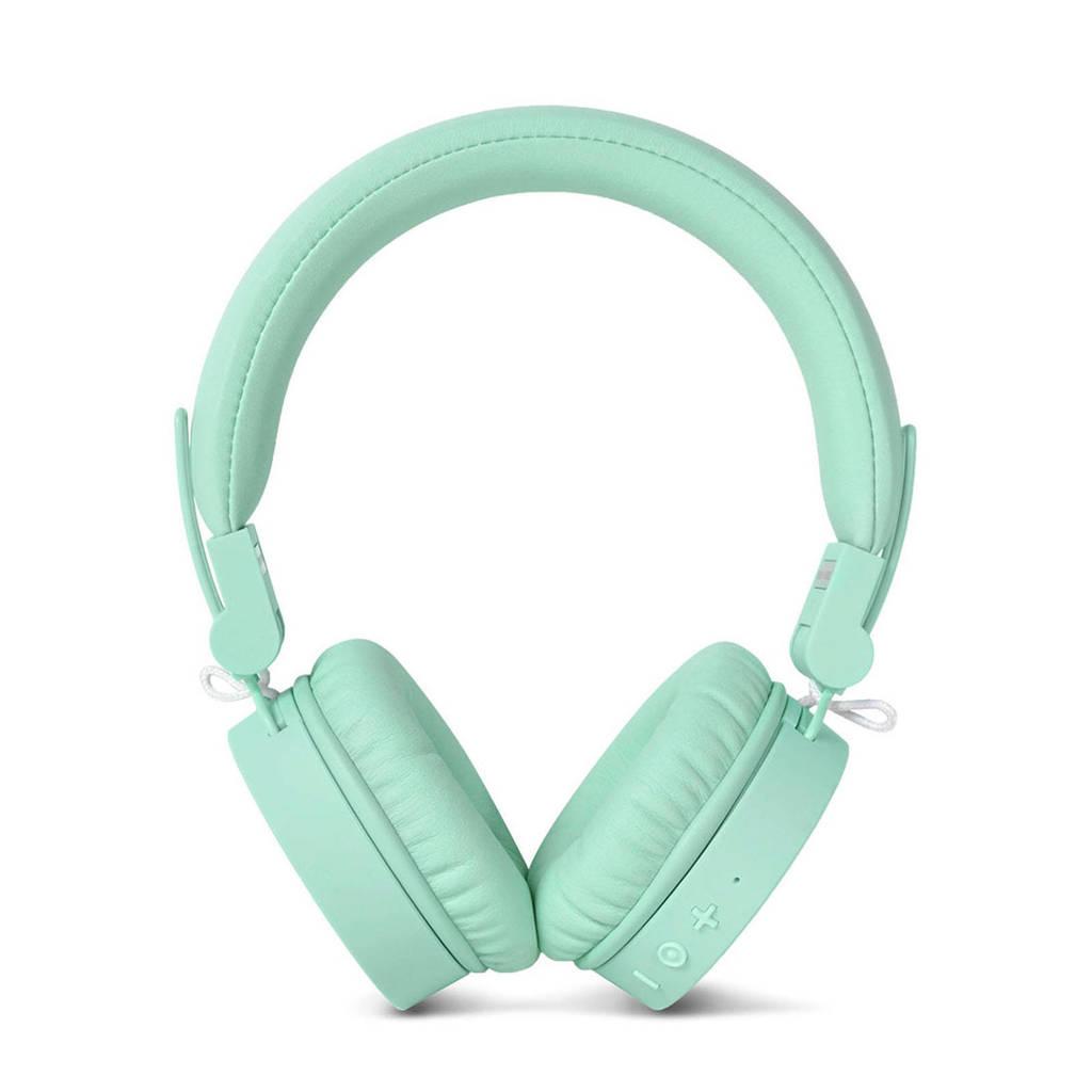 Fresh 'n Rebel CAPS Bluetooth on-ear koptelefoon (mintgroen), Mint colour, Op het oor