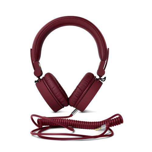 Fresh 'n Rebel Caps on-ear koptelefoon donkerrood kopen