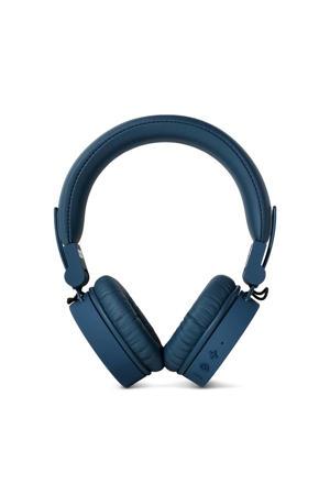 Caps on-ear bluetooth koptelefoon donkerblauw